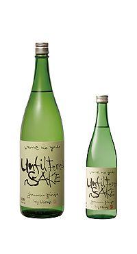 梅の宿の無濾過純米吟醸生原酒。 アンフィルタード・サケとは、無濾過酒のことらしい。 山田錦・50%やや甘口?1.8L 3,675円(奈良)#sake