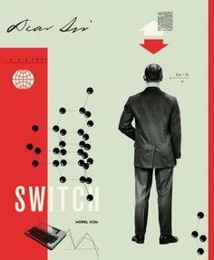 dear sir / via design inspiration #collage #design #typography