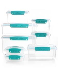 Martha Stewart Collection 16-Piece Food Storage Container Set
