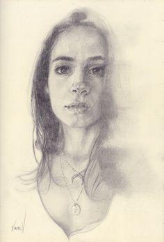 Portrait drawing by Hogan Kimbrell 2017