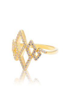 Nialaya Cascade Diamond Ring #gold #nialaya #womensjewelry