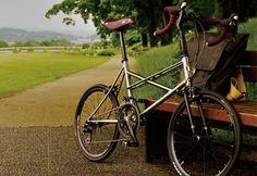 Photo by pookhaw Urban Bike, Fixed Bike, Touring Bike, Cycling Workout, Mini Bike, Classic Bikes, Cool Bikes, Bicycle, Bike Ideas