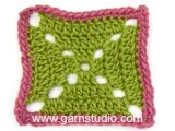 "Take Care - Paño DROPS de ganchillo, en ""DROPS ♥ YOU #5"" o ""Paris"". - Free pattern by DROPS Design"