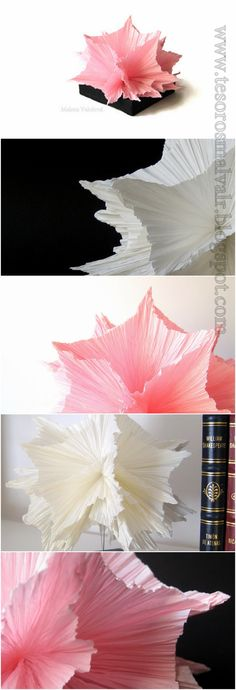 Paper Abstract Sculptures. Esculturas Abstractas de Papel.