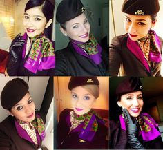 Our Cabin Crew love to welcome you aboard!
