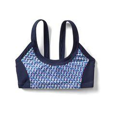66d66c70d2 Athleta Girl Sporty Bikini ($28) ❤ liked on Polyvore featuring swimwear,  bikinis,