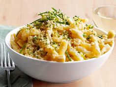 Recipe of the Day: Fast Pasta with Three Cheeses from #FNMag         Loaded with cheddar, monterey jack and Parmesan cheeses, these speedy noodles can be made last-minute, and are worth squeezing into your Thanksgiving menu at the eleventh hour. #RecipeOfTheDay