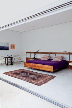 Casa Isay Weinfeld /. Cama Joaquim Tenreiro