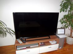 A new Sony Bravia LCD TV with more than 120 TV channels (including several very popular channels in English and German language and some in Croatian, Serbian, Italian, French and other languages) in the living room.
