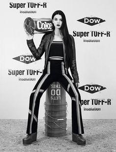 Kendall Jenner extended cover shoot unseen images Dazed