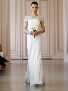 BRIDALS16 LOOK22 (Vestido de Novia). Diseñador: Oscar de la Renta. ...