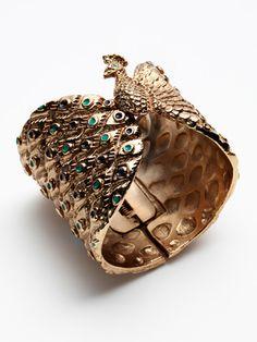 Peacock cuff. Need.