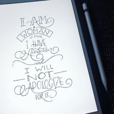 Friday morning lettering practice turns into a lifetime mantra Materials use