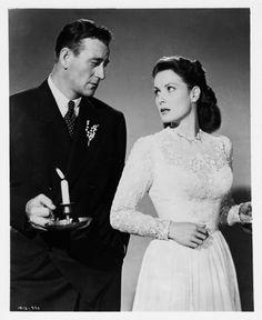 John Wayne + Maureen O'Hara by slr1238