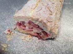 Roláda Meringue (fotorecept) Pavlova, Sweet Tooth, Meringue, Keto, Cheese, Cake, Merengue, Kuchen, Torte