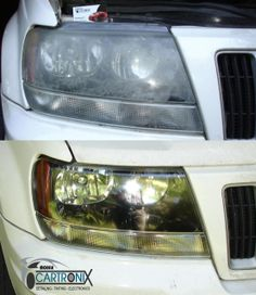 Mobile Headlight Restoration Starting at $35 per light Call Today 512-910-7227 Headlight Restoration