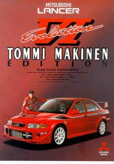 Mitsubishi Lancer Evolution, Mitsubishi Motors, Car Brochure, Car Memes, Japan Cars, Car Advertising, Top Cars, Off Road, Rally Car