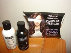 TRESemme Platinum Strength Travel Size Shampoo Conditioner - Unopened, 1 oz each. I have 3 sets of these :)