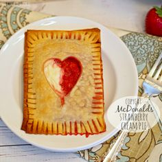 Copycat McDonald's Strawberry Cream Pies, easy and delicious! Simple baked pie made with cream cheese and strawberries, just like at McDonalds. Amazing!