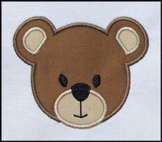 DESCARGAR INSTANT oso cara apliques diseños por DBembroideryDesigns, $3.99