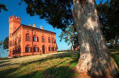 Castello di Lajone di Quattordio, Alessandria, Piemonte.