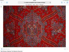 Turkey Red Dyer