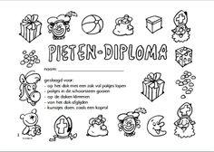 pieten diploma kleuters