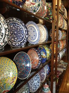 """#Turkey is famous for its #ceramics and #tiles which we traditionally call """"Iznik ceramics"""" named after the city where it was produced."""