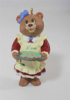Hallmark Keepsake Christmas Ornament Mom Bear 1998 NIB