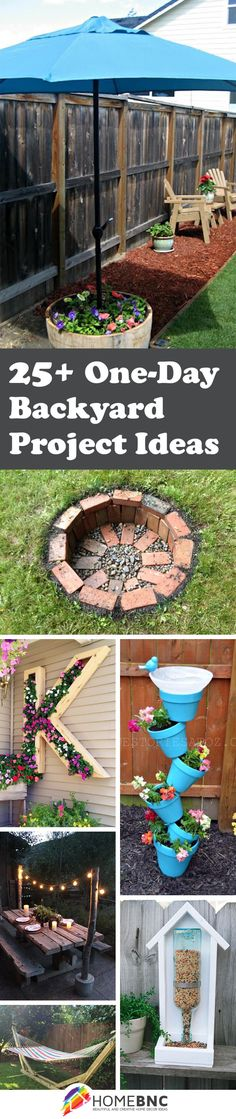 One-day Backyard Projects