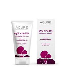 Acure Organics Eye Cream - chlorella + edelweiss stem cell - 1 oz