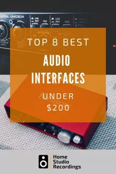 If you are looking to start recording music at home then an audio interface is an essential part of your recording setup. In this post, I'm going to be sharing my opinion on the best audio interfaces under $200. #studio #recording #recordingstudio #audio #audiointerface #musicstudio #musician #homerecording #homerecordingstudio M Audio, Audio Songs, Audio Room, Hifi Audio, Record Audio, Yamaha Audio, Recording Studio Setup, Audio Books For Kids, Audio Mastering
