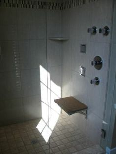 A shower area