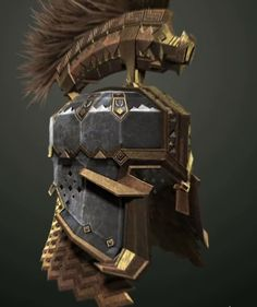 Dain Ironfoot's Helmet // I JUST REALIZED THAT THERE'S A PIG ON HIS HELMET!