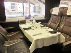 Read about The Pullman Carriage here: http://www.decadentdrifter.com/the-pullman-carriage-2/ #london #devon #restaurant #review