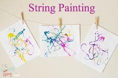 Kids Crafts: String - Think Crafts by CreateForLess