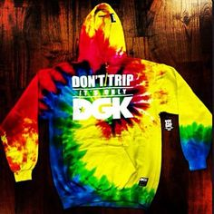 Don't trip it's only #DGK #tiedye