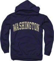 Washington Huskies Purple Arch Hooded Sweatshirt