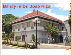 Jose Rizal Shrine in Calamba, Laguna, Philippines. Considered favorite historical place to visit because this is where the national hero, Jose Rizal, was raised University Of Santo Tomas, Political Reform, Jose Rizal, Visual Aids, Spanish Colonial, Historical Sites, Philippines, Gazebo, Architecture Design