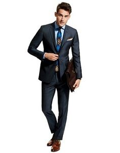 Perfect college male student look for job interview!