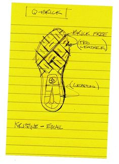 Q-Brick Outsole, Michael DiTullo. Principles of design in use: contrast, unity,.