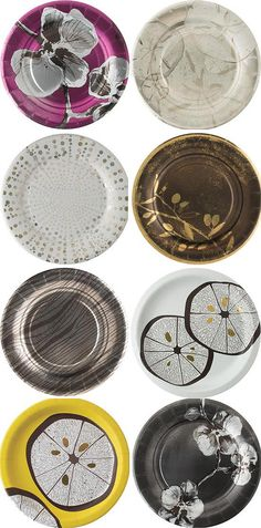 MADHOUSE by Michael Aram paper plates | SUMMERLICIOUS | The Designer Pad (@TheDesignerPad)