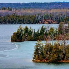 Au Sable River, Michigan