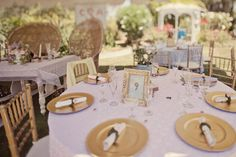 Garden Tea Time Wedding