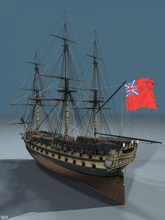 HMS Agamemnon (1781): Update 123 — PRDobson.com
