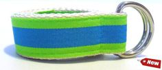 Lime & Sea Blue Kids Belt - Cute Beltz