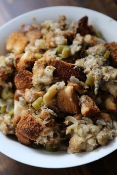 Crock Pot Stuffing Recipe perfect for Thanksgiving