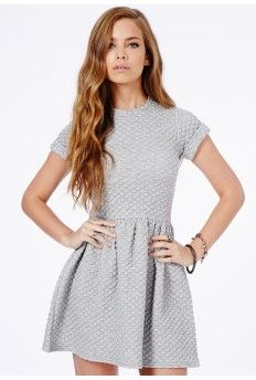 Robyn Quilted Skater Dress