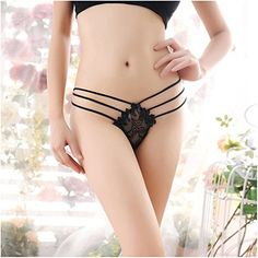 1f7bd7b954 LOVELYIVA Hot Womens Sexy Lace Condole Belt Thongs Tback Panties Knickers  Underwear Black    Visit the image link more details. (This is an affiliate  link ...