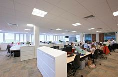 Busy office space at Croxley Park.